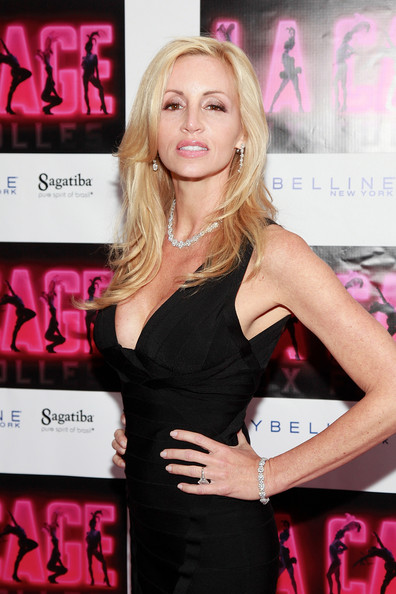 "Camille Grammer - ""La Cage Aux Folles"" Broadway Opening Night - Arrivals & Curtain Call"