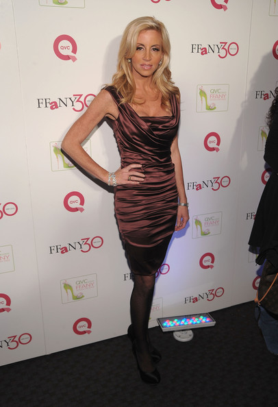 "Camille Grammer TV Personality Camille Grammer attends ""FFANY Shoes on Sale"" Benefit for Breast Cancer Research and Education, presented by QVC at Frederick P. Rose Hall, Jazz at Lincoln Center on October 13, 2010 in New York, New York."
