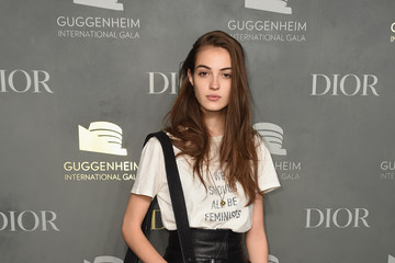 Camille Hurel 2017 Guggenheim International Pre-Party Made Possible by Dior