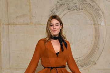 Camille Rowe Christian Dior: Photocall  - Paris Fashion Week Womenswear Spring/Summer 2018