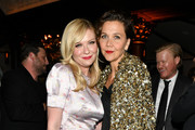 Kirsten Dunst and Maggie Gyllenhaal attend as Campari sponsors Opening Night of the 57th New York Film Festival on September 27, 2019 in New York City.
