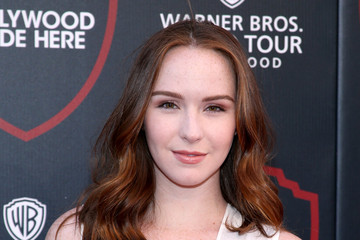 Camryn Grimes The Warner Bros. Studio Tour Hollywood Expansion Official Unveiling, Stage 48: Script to Screen