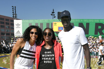 Candace Parker Adidas Creates 747 Warehouse St. in Los Angeles - An Event in Basketball Culture