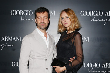 Candela Novembre The Opening Of The New Giorgio Armani Boutique In Venice