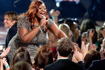 Candice Glover FOX's 'American Idol' Finale For The Farewell Season - Show