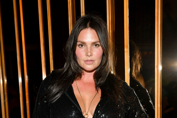 Candice Huffine E!, ELLE, And IMG Presented By TRESemmé Host NYFW Kick-Off Party - Inside