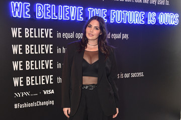 Candice Huffine IMG NYFW: The Shows 2019 PARTNERS - February 7