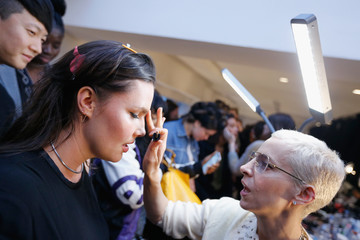 Candice Huffine 11 Honore - Backstage - February 2019 - New York Fashion Week: The Shows
