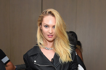 Candice Swanepoel Celebrities Attend the Rihanna Party at The New York EDITION