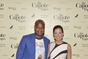 """Ebs Burnough and Andrea Wong attend """"The Capote Tapes"""" TIFF Premiere Party on September 07, 2019 in Toronto, Canada."""