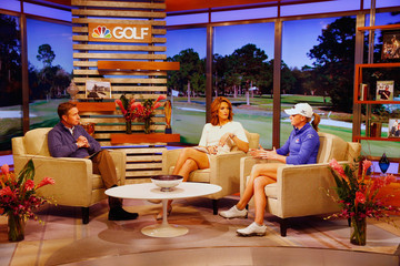 Cara Robinson Stacy Lewis Appears on Golf Channel's 'Morning Drive'