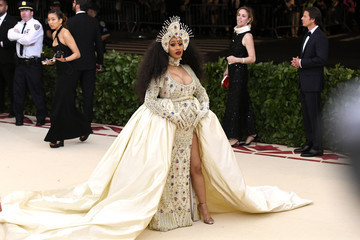 Cardi B Heavenly Bodies: Fashion & The Catholic Imagination Costume Institute Gala - Arrivals