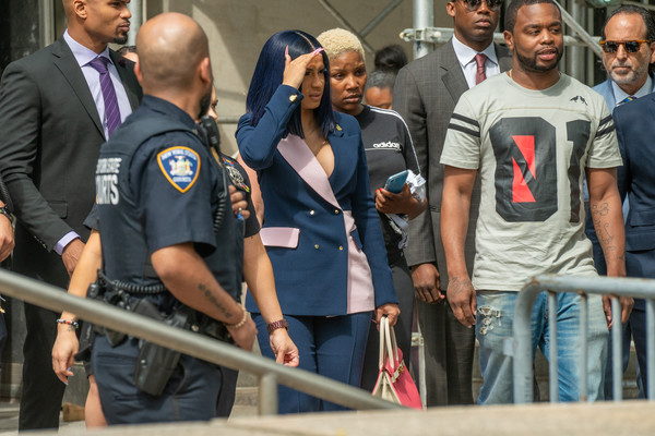 Cardi B Arraigned In Court After Grand Jury Indictment