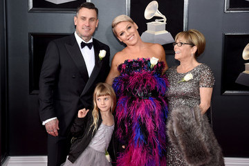 Carey Hart 60th Annual GRAMMY Awards - Arrivals