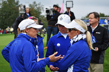 Carin Koch The Solheim Cup - Day Two
