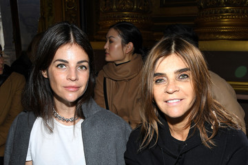 Carine Roitfeld Julia Restoin-Roitfeld Stella McCartney : Front Row - Paris Fashion Week Womenswear Fall/Winter 2020/2021