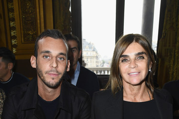 Carine Roitfeld Balmain : Arrivals - Paris Fashion Week Womenswear Spring/Summer 2018