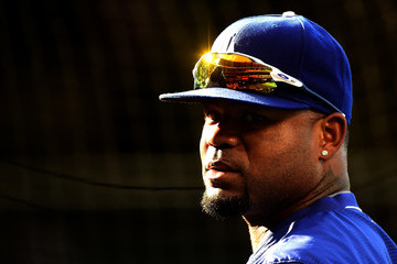 Carl Crawford Los Angeles Dodgers v Los Angeles Angels of Anaheim