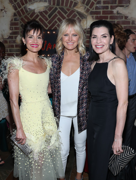 'Jett' New York Screening [fashion,haute couture,event,dress,premiere,fashion design,cocktail dress,formal wear,style,jett,actors,julianna margulies,malin akerman,carla gugino,l-r,new york,the roxy hotel,screening,screening]