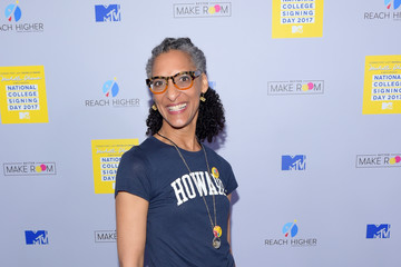 Carla Hall MTV's 2017 College Signing Day with Michelle Obama - Arrivals
