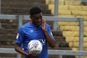 Kelvin Etuhu of Carlisle United in action during the Sky Bet League Two match between Carlisle United and Northampton Town at Brunton Park on August 11, 2018 in Carlisle, United Kingdom.