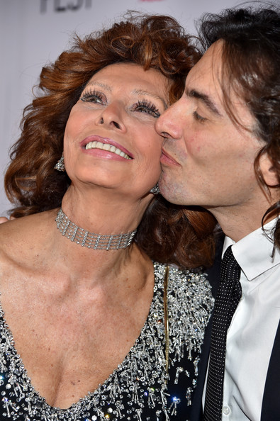 Carlo Ponti Pictures Afi Fest 2014 Presented By Audi S Special Tribute To Sophia Loren Red