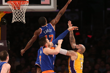 Carlos Boozer New York Knicks v Los Angeles Lakers
