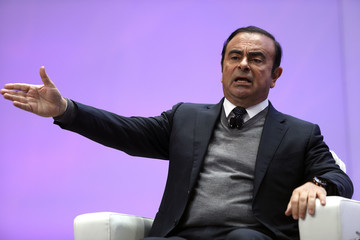 Carlos Ghosn North American International Auto Show Features Latest Car Models
