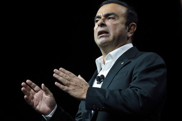 Carlos Ghosn Latest Consumer Technology Products On Display At CES 2017