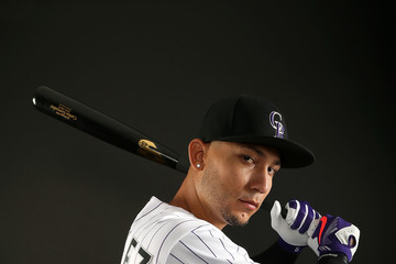 Carlos Gonzalez Colorado Rockies Photo Day