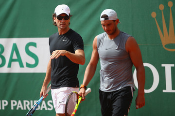 Carlos Moya ATP Masters Series: Monte Carlo Rolex Masters - Day Two