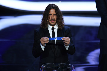 Carlos Puyol Final Draw for the 2018 FIFA World Cup Russia