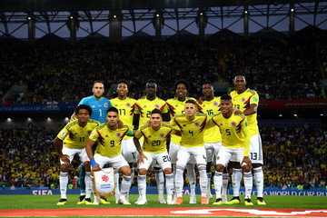 Carlos Sanchez Colombia vs. England: Round of 16 - 2018 FIFA World Cup Russia