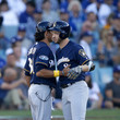 Carlos Subero League Championship Series - Milwaukee Brewers vs. Los Angeles Dodgers - Game Three
