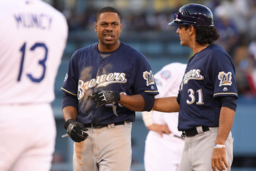 Carlos Subero League Championship Series - Milwaukee Brewers vs. Los Angeles Dodgers - Game Five