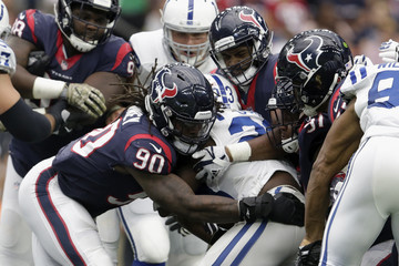 Carlos Watkins Indianapolis Colts v Houston Texans