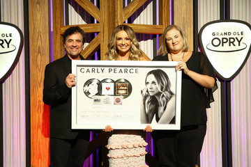 Carly Pearce Carly Pearce Grand Ole Opry Induction