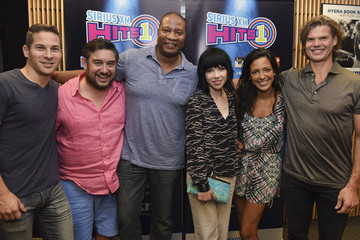 Carly Rae Jepsen SiriusXM Hits 1's the Morning Mash Up Broadcast from the SiriusXM Studios in Los Angeles