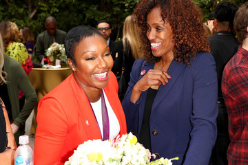 Carmelita Jeter Globes Weekend Gets Sporty With Athletic Royalty