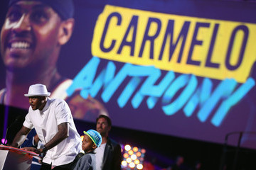 Carmello Anthony Nickelodeon Kids' Choice Sports Awards Show