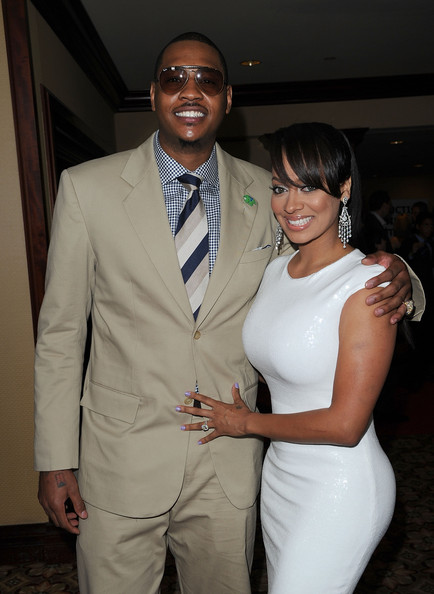 La La Vazquez and Carmelo Anthony - 2010 Cedars-Sinai Sports Spectacular