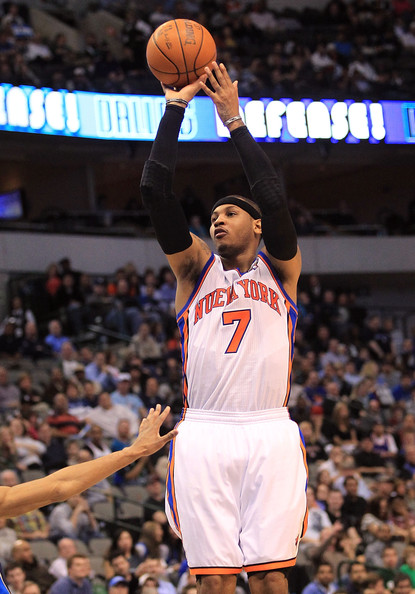 Carmelo Anthony Pictures - New York Knicks v Dallas ...