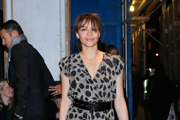 Carmen Ejogo Celebs Attend an 'Oz' Screening in NYC