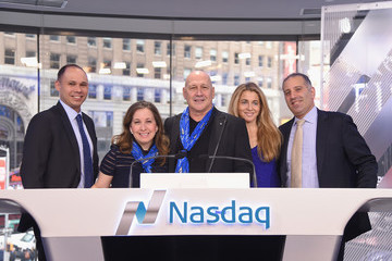 Carmen Marc Valvo Carmen Marc Valvo and the Colon Cancer Alliance Rings the Nasdaq Stock Market Opening Bell
