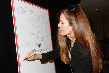 Carol Alt Annual Charity Day Hosted By Cantor Fitzgerald And BGC - BGC Office - Inside