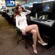 Carol Alt Annual Charity Day Hosted By Cantor Fitzgerald, BGC, And GFI - Cantor Fitzgerald Office - Inside