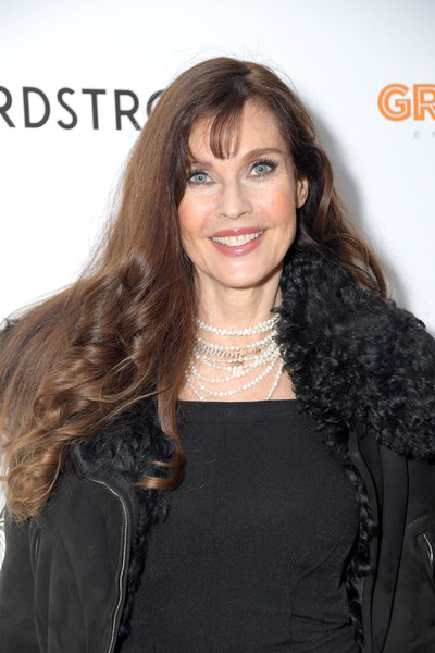 """The Times Of Bill Cunningham"" New York Screening [the times of bill cunningham,hair,hairstyle,long hair,eyebrow,brown hair,layered hair,beauty,lip,black hair,blond,carol alt,new york,angelika film center,screening,carol alt,stock photography,photograph,image,celebrity,alamy,beauty,phoebe buffay,launch party,livingly media]"