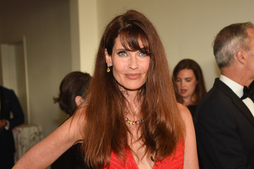 Carol Alt FIJI Water at the amfAR Inspiration Gala New York