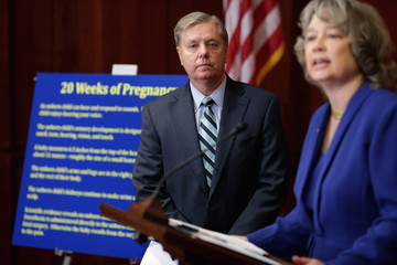Carol Tobias Lindsey Graham Holds News Conference
