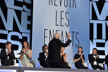 Carole Bouquet Zhang Ke Jia Closing Ceremony - The 67th Annual Cannes Film Festival